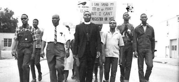 Civil Rights Movement march Americus, Georgia