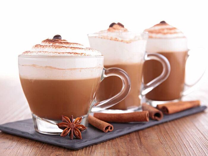 Cinnamon Mocha Coffee made with Cafe Campesino