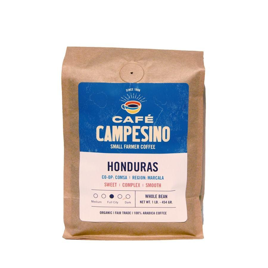 Honduran coffee that is fair trade and organic.