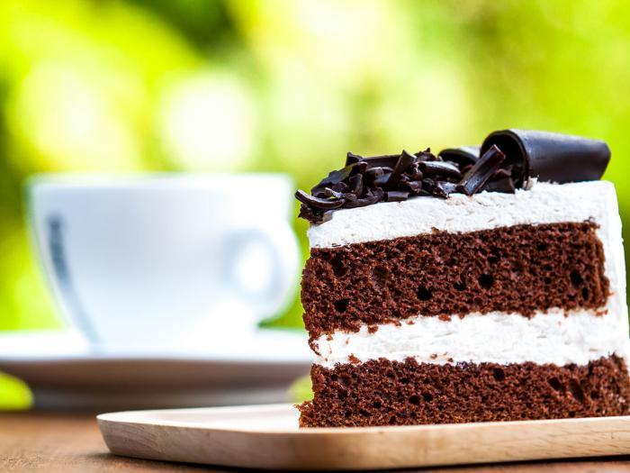 Moist Chocolate Cake made with Cafe Campesino fair trade coffee