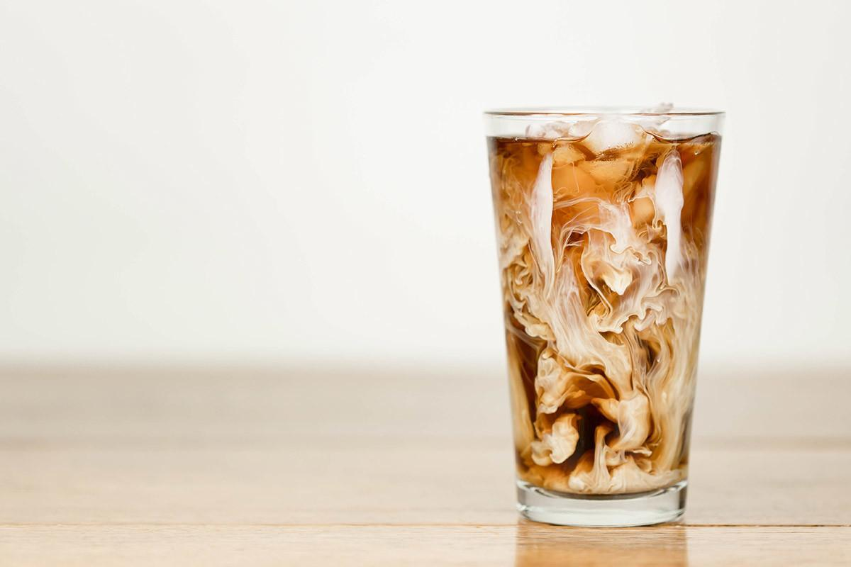 Coconut Milk Iced Latte