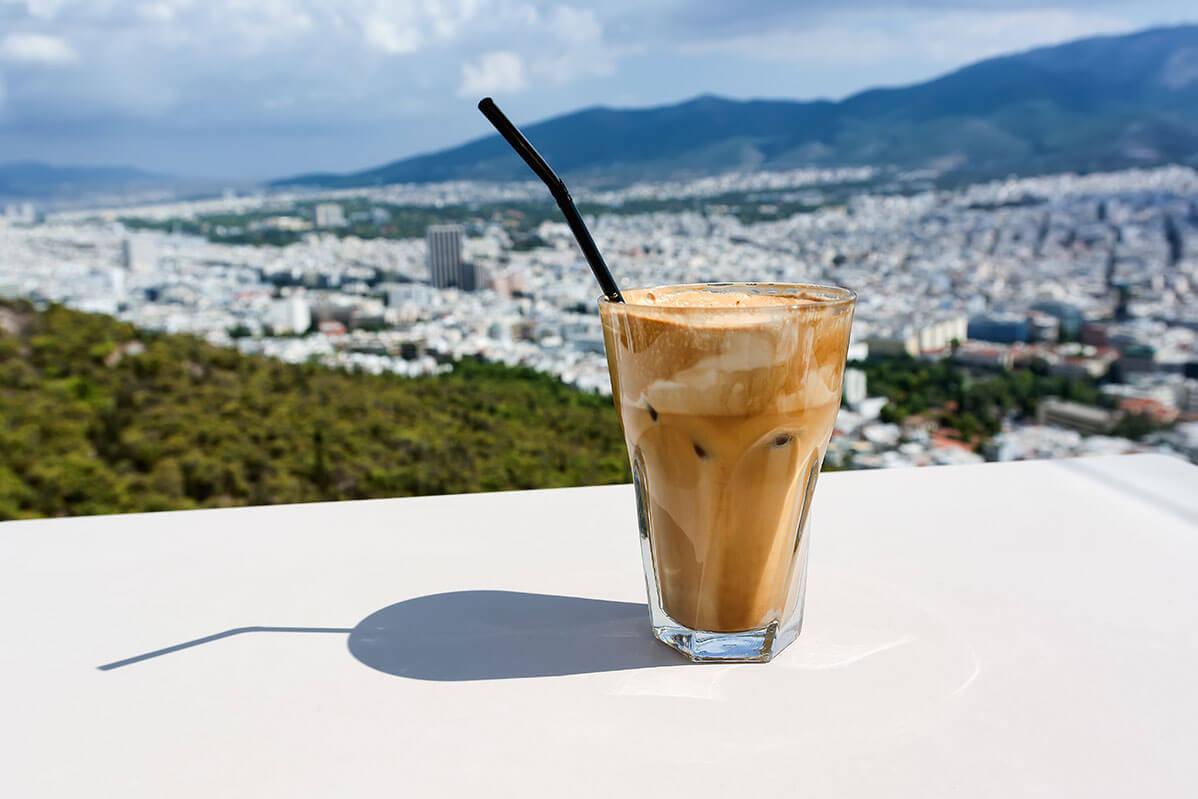 Greek Coffee Frappe 2