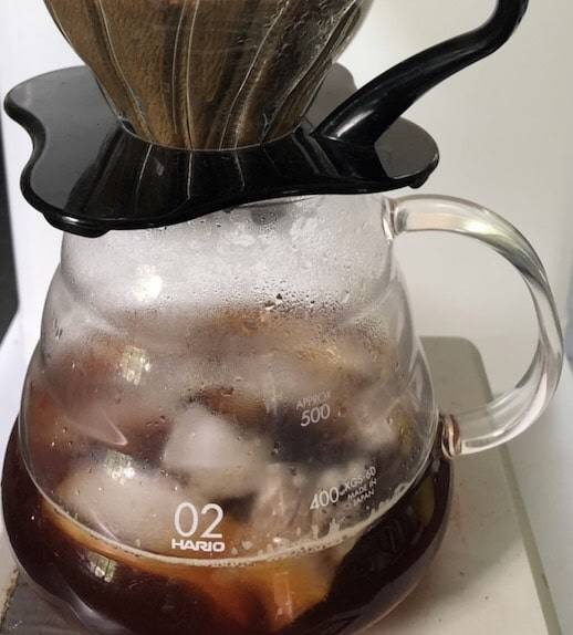 Japanese Iced Coffee Brewing
