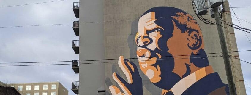 John Lewis Mural Sweet Auburn Atlanta